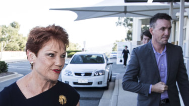 James Ashby is often referred to as One Nation leader Pauline Hanson's right-hand man.