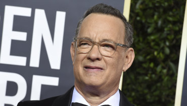 Due to start filming once he is out of quarantine: Tom Hanks.