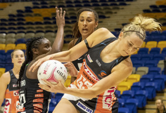 "With the Giants sitting in sixth place, captain Jo Harten described the game as ""life and death"" with the side still in the hunt for finals glory."