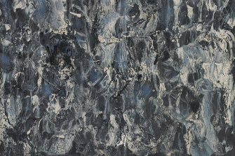 Ralph Balson's Matter Painting helped Nuttall develop a taste for more abstract works.