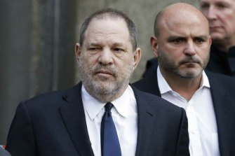 'Publicity seeker looking for money': Harvey Weinstein denies the allegations.