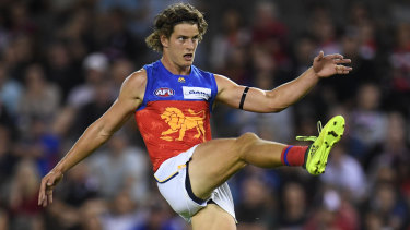 Jarrod Berry has come along in leaps and bounds, averaging 17 touches and tracking third at the Lions for tackles.