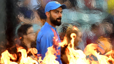 Star power: Virat Kohli is the unrivaled attraction for India fans set to flock to the SCG.