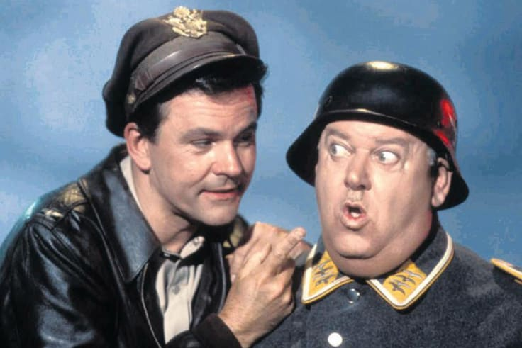 In later life, Ralph Churches - who had experienced an actual wartime POW camp - enjoyed watching <i>Hogan's Heroes</i>.