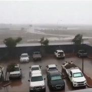 Cyclone Veronica closed operations right across the Pilbara.
