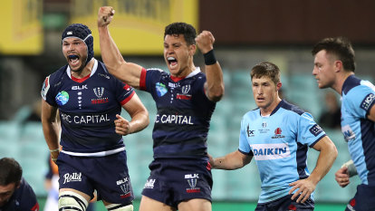Rebels one win away from history as Waratahs promise to stick to their guns