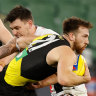 ACL avoided as Richmond's Noah Balta diagnosed with syndesmosis injury