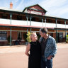 Cancer almost snatched this couple's dream to run a Wheatbelt pub, but now they are fighting back