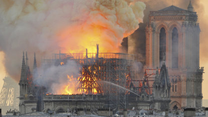 Why did the world stop for Notre-Dame?