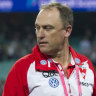 Swans coach John Longmire has dismissed talk of a move to North Melbourne.