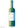 How long will wine last in a shop's sunlit window?