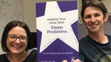 Dr Michael Gradisar with co-author Rachel Hiller.