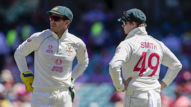 Test captain Tim Paine says Steve Smith still has ambitions to return to the top job.