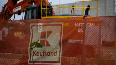 Construction at Kaufland's aborted Prospect store in Adelaide