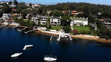 Of particular interest is a property on Coolong Road in Vaucluse.