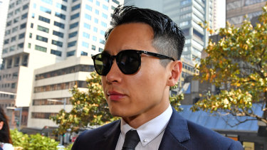Chinese movie star Yunxiang Gao is accused of raping a woman in a Sydney hotel room.