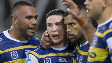 All eyes will be on Eels half Mitchell Moses.