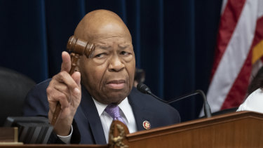 "House oversight and reform committee chairman Elijah Cummings is the latest to draw attacks from the President, who is accusing him of being ""racist""."
