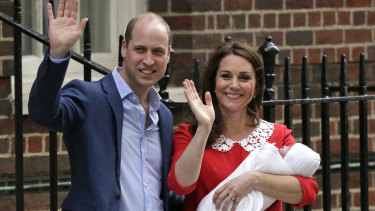 Kate, Duchess of Cambridge, appeared before well-wishers just six hours after giving birth.