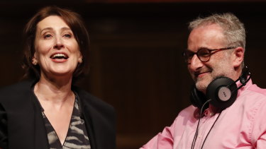 Virginia Trioli has received her first standalone radio ratings since taking over from longtime ABC mornings host Jon Faine.