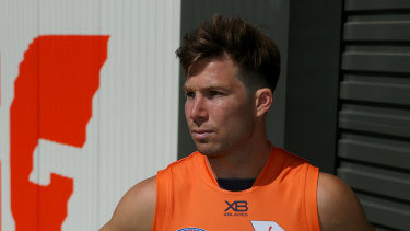 """Toby Greene says the GWS Giants are ready to """"show the AFL world what we can do"""" in the finals."""