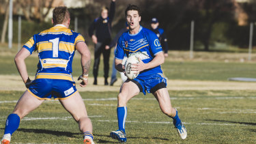 West Belconnen centre Ryley Thomas is excited to play in PNG.