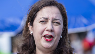 Annastacia Palaszczuk says her government has moved quickly in response to community frustration with the Adani approval process.