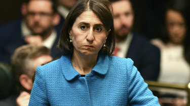 "Premier Gladys Berejiklian said the ""last few days have been unfortunate and disappointing""."