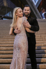 Model couple setting up home in Sydney: Israeli model Lee Levi and her fiance Eitan Neishlos.
