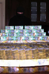 Shayne Hatfield, who was arrested in 2005, with $10 million from cocaine importations.