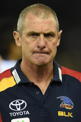 Former Adelaide coach Phil Walsh.