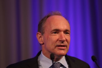 Sir Tim Berners-Lee, the inventor of the world wide web.
