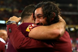 Maroons and Cowboys legend Johnathan Thurston picked nine of his former teammates in his greatest Queensland side.
