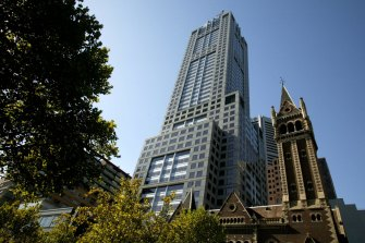 New leases have been signed at 120 Collins Street in Melbourne.