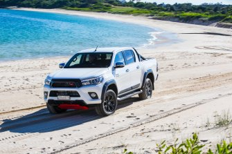 The Toyota HiLux is again the nation's most popular new car.