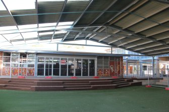 A multimedia and performing arts area built at Walgett Community College as part of a $9.2 million renovation