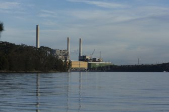 The Vales Point coal plant says excessive pollution levels from its discharges can be blamed on dirty water in Lake Macquarie.