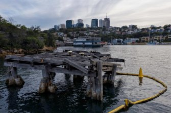 Fears that a new harbour tunnel may dredge up toxic material from the floor of Berrys Bay.