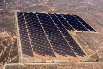 The Broken Hill solar farm has been affected by transmission constraints.