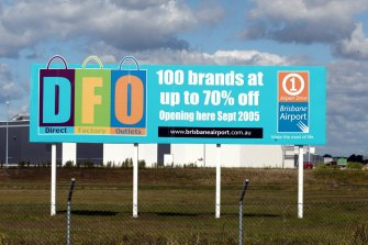 One of the two people infected worked at Brisbane Airport DFO.