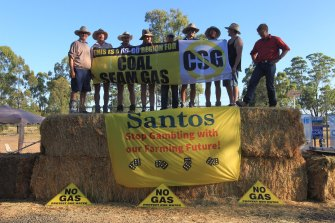 Coal seam gas projects have drawn protests across NSW leading the government to cancel many exploration licences.