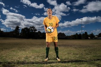 Sam Kerr is one of the best strikers in the world