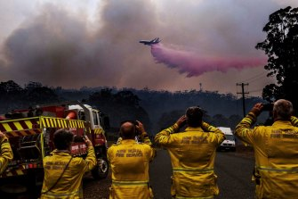 Fire crews flew more than 1700 missions to combat blazes during the season.