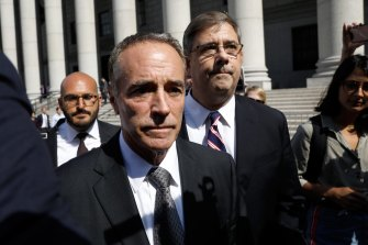 US congressman Christopher Collins  resigned over his involvement in alleged insider trading at Australian firm Innate Immunotherapeutics.