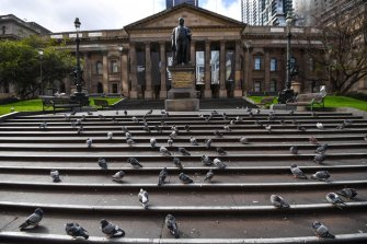 Melbourne's State Library.