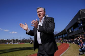 Off field, the absence of Eddie McGuire and Bruce McAvaney will be jarring.