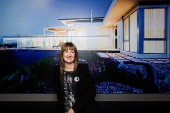 Former Master Builders Victoria president Melanie Fasham in 2016.