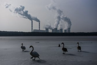 Poland's Belchatow plant is the world's largest lignite coal-fired power station.