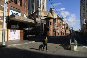 Sydney's China town early this week.