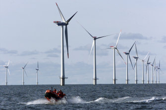 Unusually weak winds in the North Sea have added to energy problems by reducing supply to the UK and Europe from offshore wind farms.